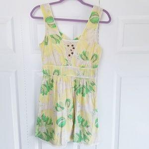 Free People l Vintage Printed Dress